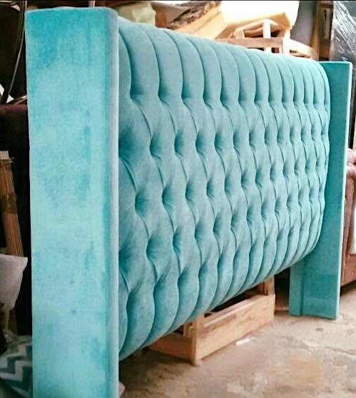 Vistoso Muebles De Cabecera Verde Azulado Ideas - Muebles Para Ideas ...