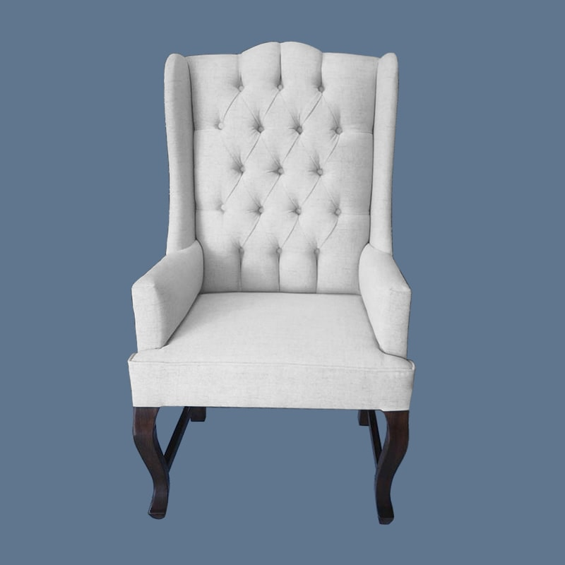 Sill n ingl s club lumi re capitonado makali hogar for Sillones clasicos ingleses