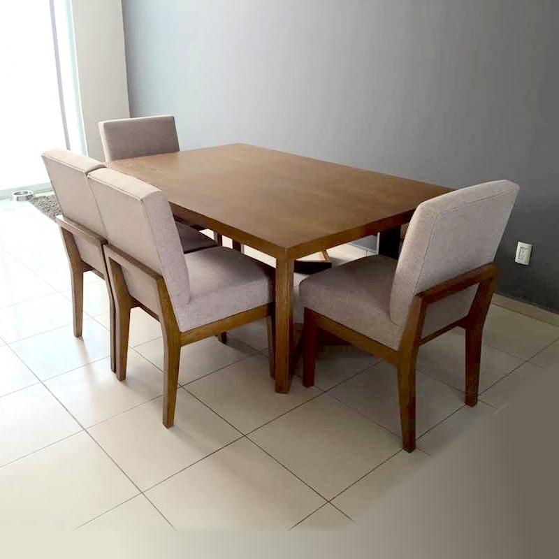 Comedores de madera for Comedores minimalistas de madera