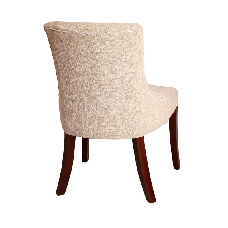 Silla de madera para comedor tamara makali hogar m xico df - Tela para sillas de comedor ...